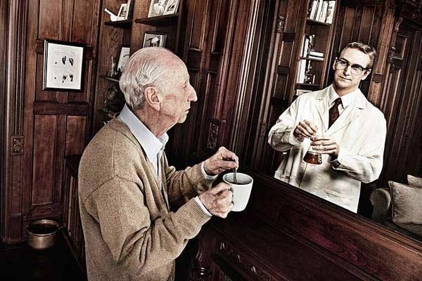 美国摄影师Tom Hussey的作品《A Mirrored Memory》(镜中回忆)-1